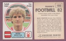 Nottingham Forest Mark Proctor